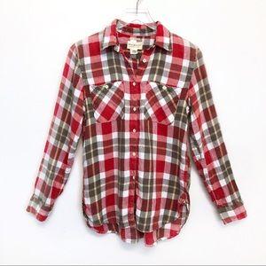 Denim & Supply Ralph Lauren Linen Plaid Shirt